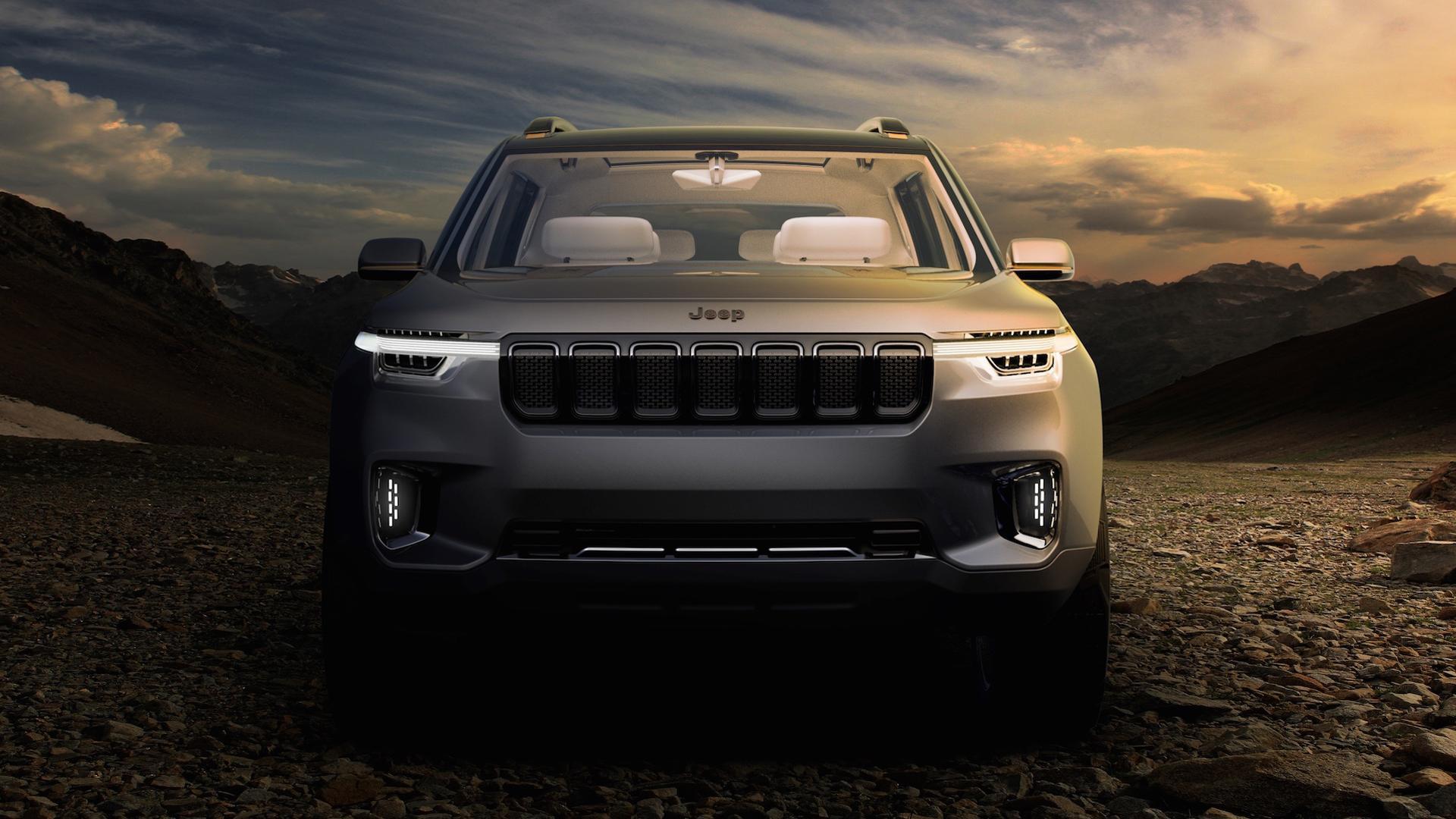 Jeep registra conceito de SUV de 7 lugares no Brasil ...
