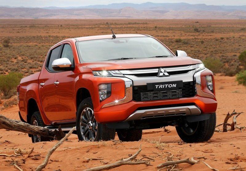 805a411177f5c Nova Mitsubishi L200 Triton é registrada no Brasil e terá visual renovado
